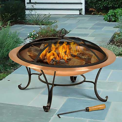 Wood Burning Fire Pits Living In Style