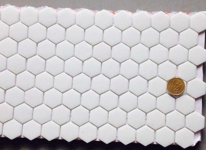 Carrelage Mosaique Blanc Carrelage Hexagonal Blanc