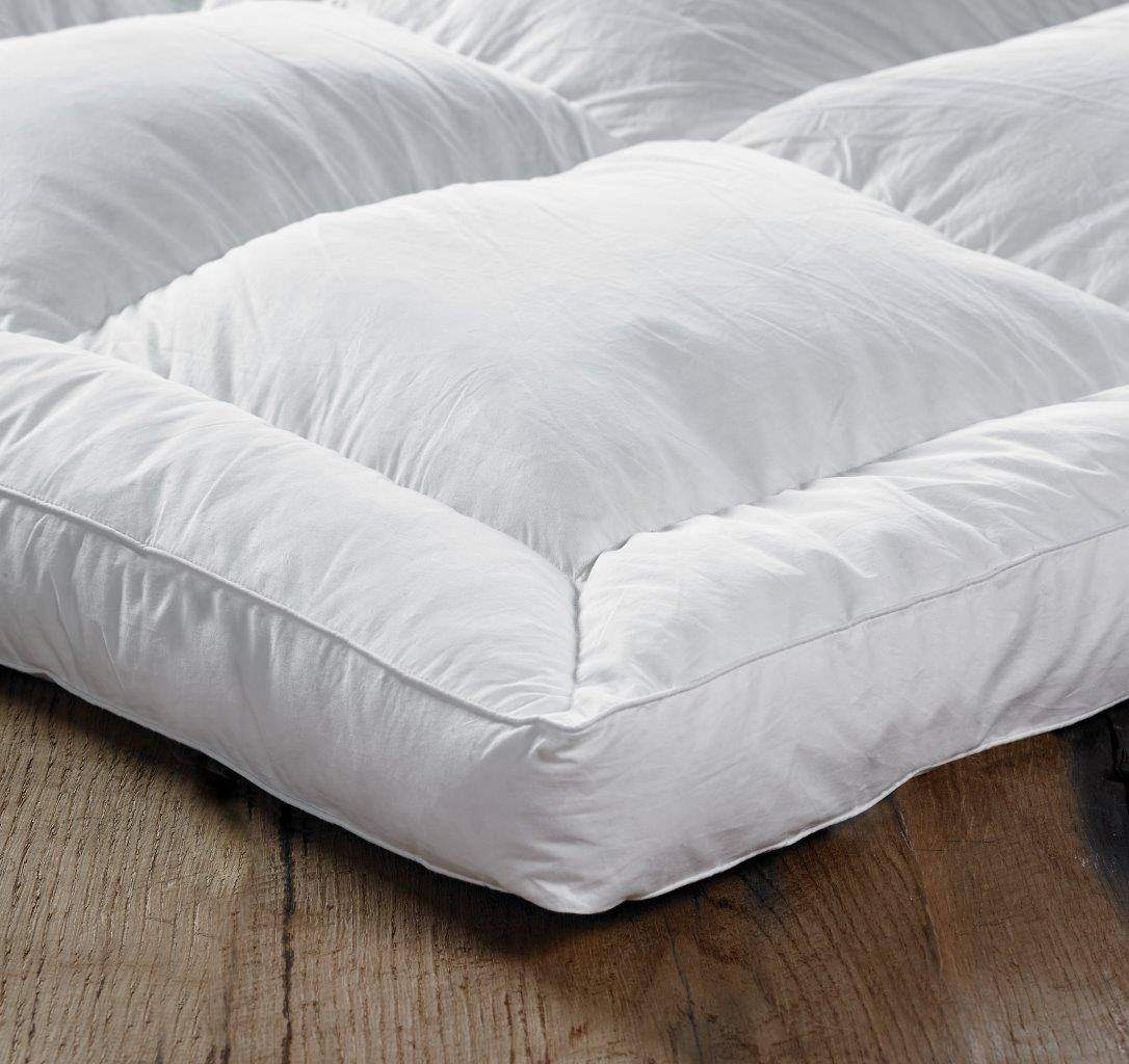 Single Bed Topper Euroquilt Goose Feather And Down Single Bed Mattress Topper