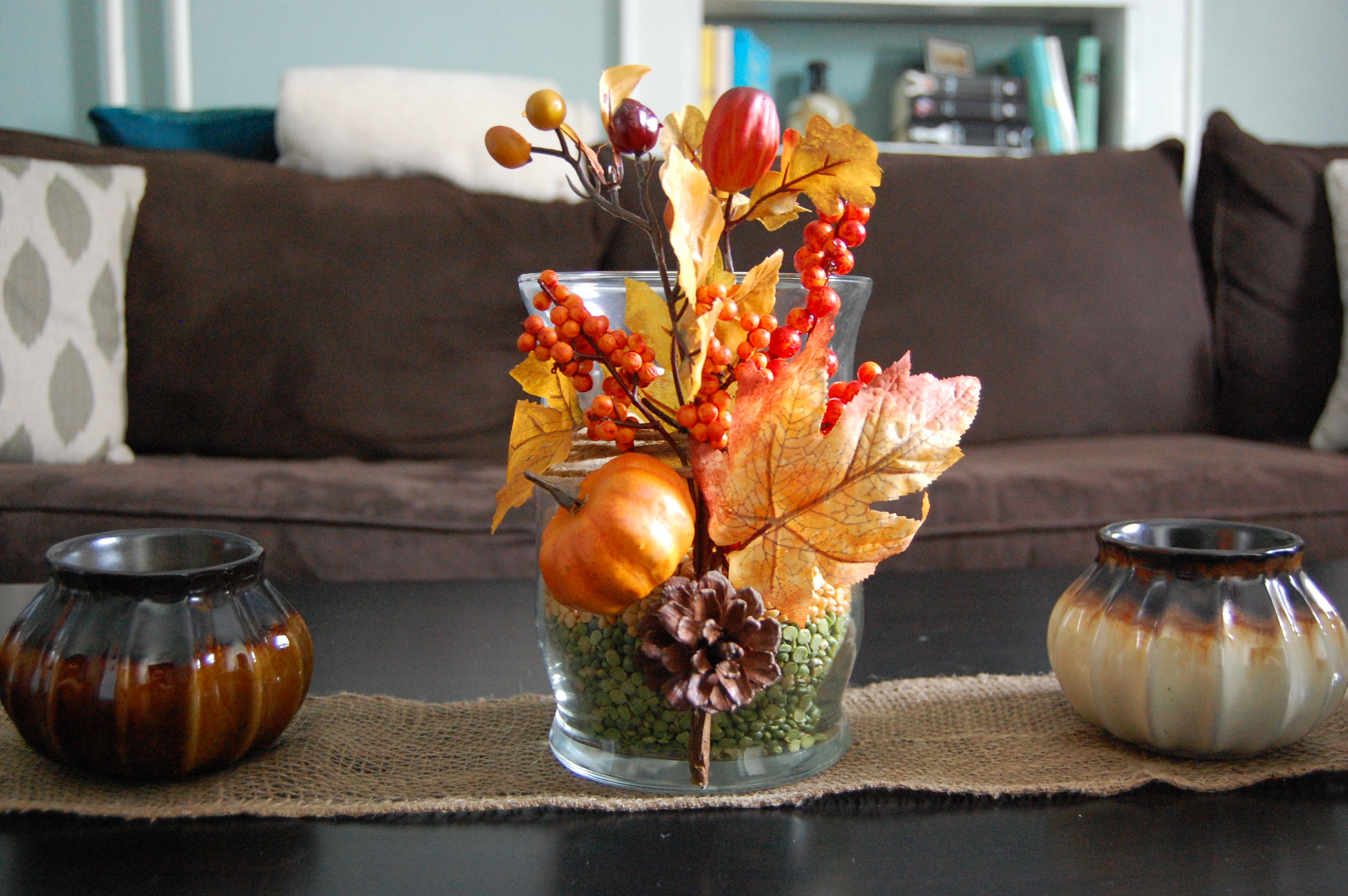 Herbstdeko Wohnzimmer Fall Table Decor Made2style