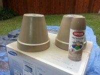 Vintage French Flower Pots | Made by Amy K.