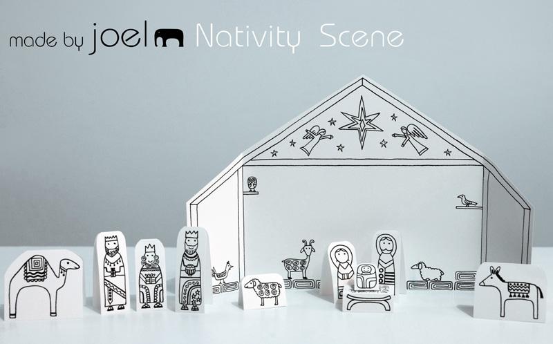 Made by Joel » Paper City Nativity Scene