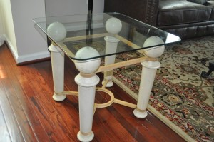 Goodwill Glass Table