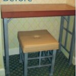 A Set of Old Hotel Table and Chairs Refinished
