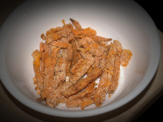 Sweet Potato in Bread Crumbs (A Healthy Baby Snack)