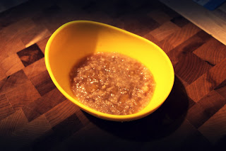 Apple and Brown Rice with Cinnamon for Baby