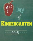 Kindergarten 2015