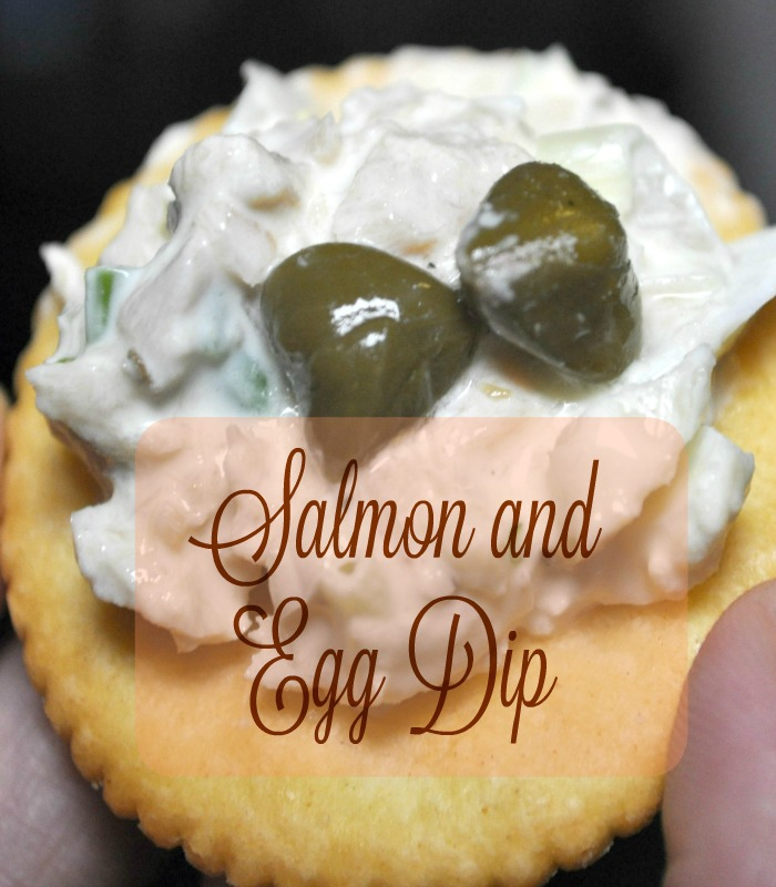 Salmon and Egg Dip Recipe