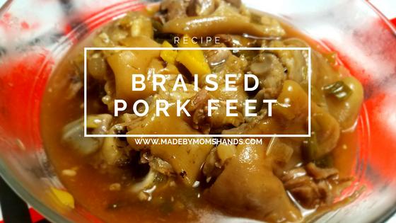 Braised Pork Feet Recipe