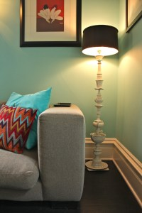 Bright diy lamp Eclectic Living Room