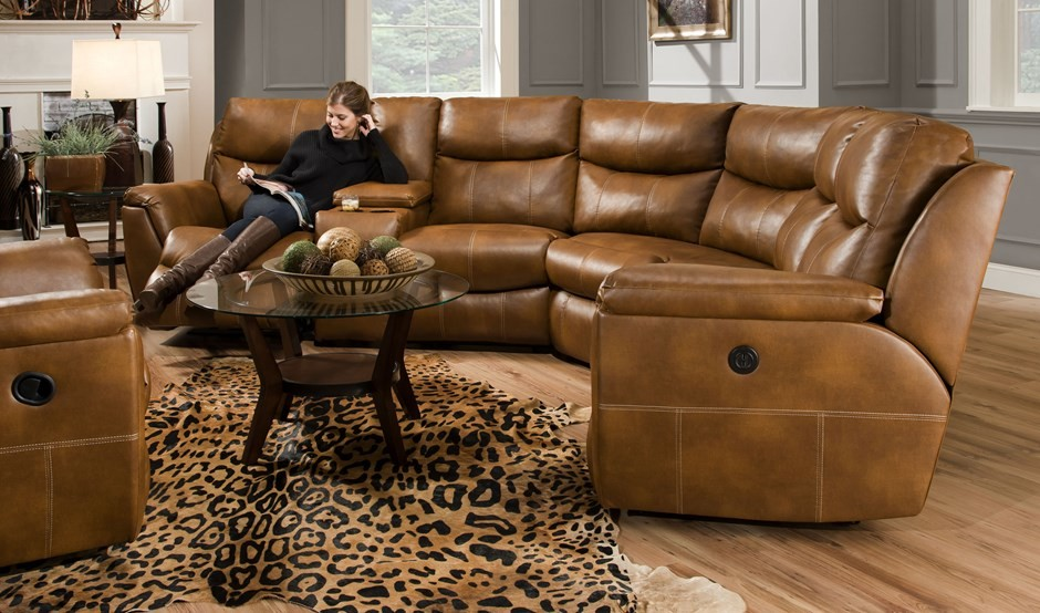 Baroque reclining sectionalin Living Room Rustic with Gorgeous - leather living room set clearance