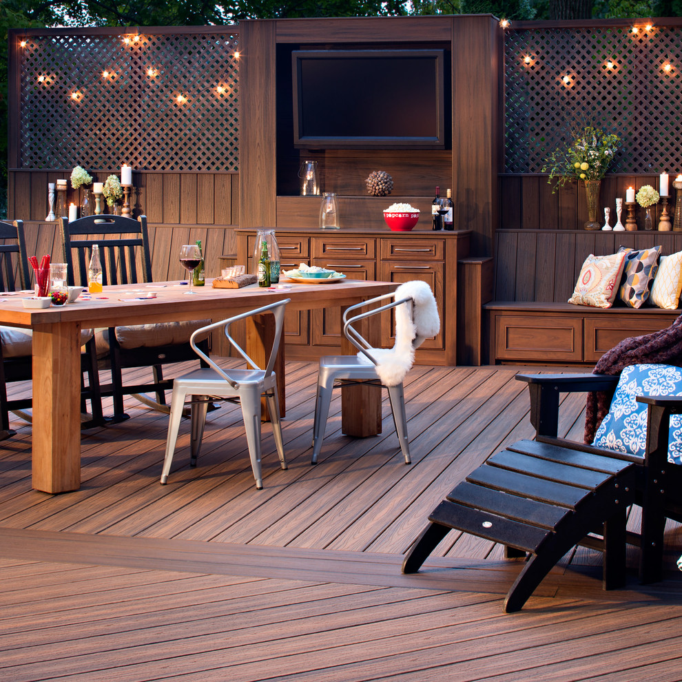 Beautiful Modloftin Deck Eanf With Foxy Funky Livingroom
