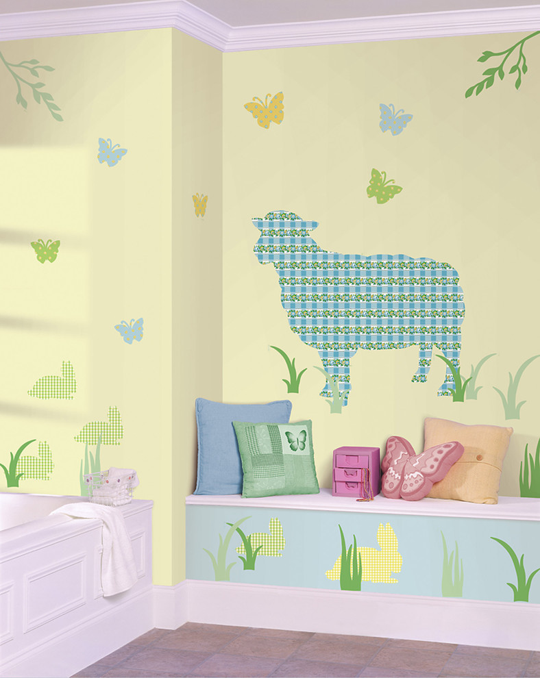 Chic Wallpops Image Ideas For Kids Traditional