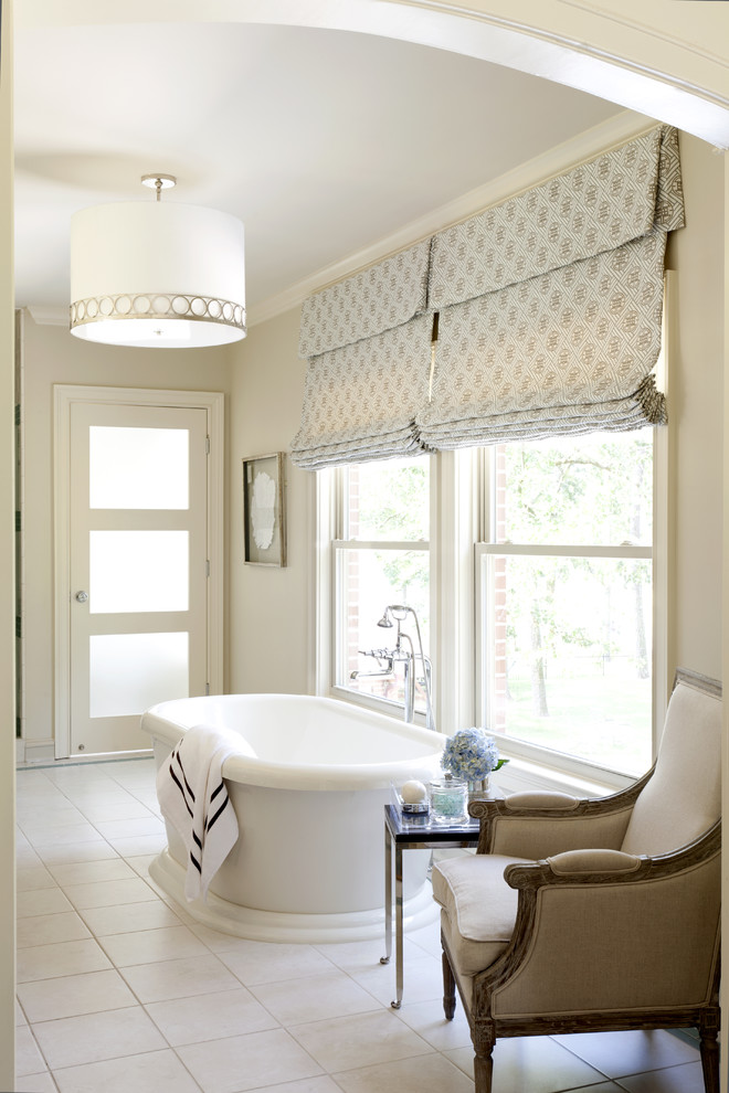 Beach House Window Treatments Cool Drum Pendant Lighting In Bathroom Contemporary With