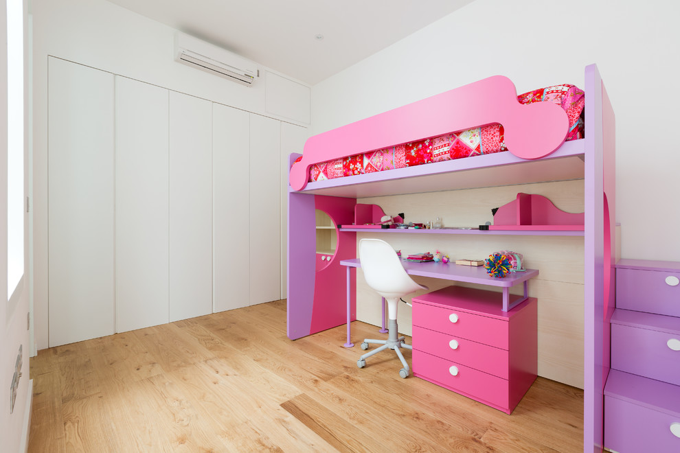 Impressive Twin Over Full Bunk Bed With Stairs In Kids