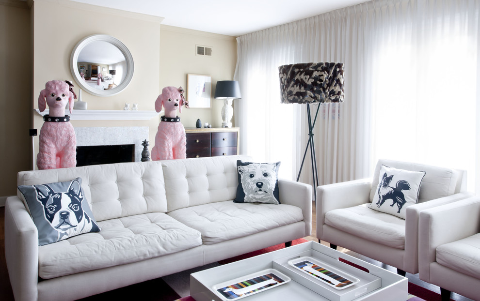 Inspired mens valet standin Living Room Contemporary with - dog bedroom ideas