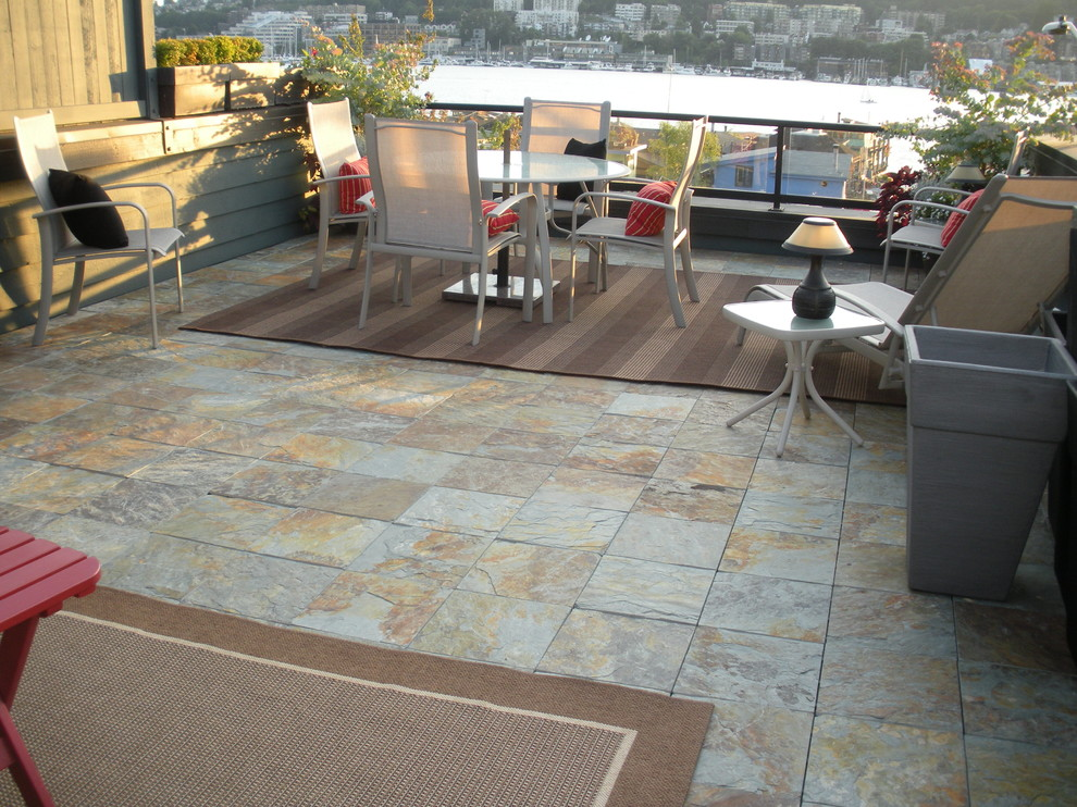 Marvelous Interlocking Deck Tiles In Patio Modern With Slate Deck Next To Slate Deck Tiles