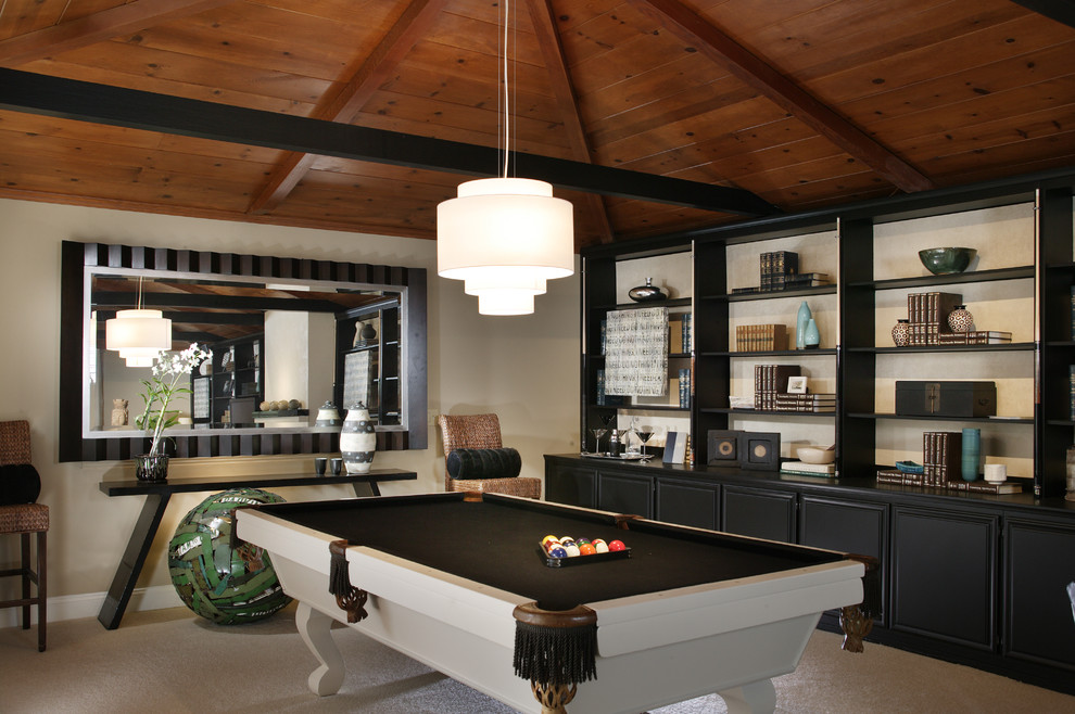 Made Couchtisch Good Looking Mizerak Pool Table In Basement Contemporary
