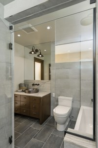Stone Forest Sinks Powder Room Contemporary with Vessel ...