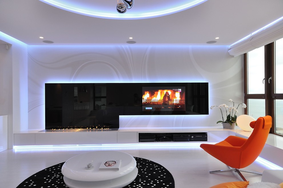 Wall Unit Family Room Traditional With Panels Decorative
