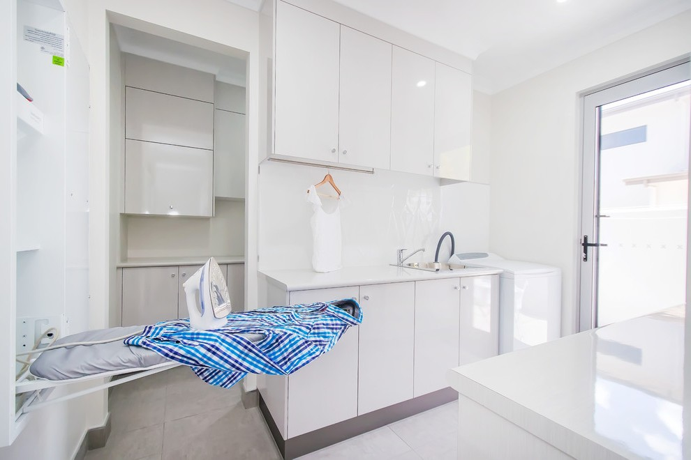 Brisbane Room And Board Crib Laundry Contemporary With