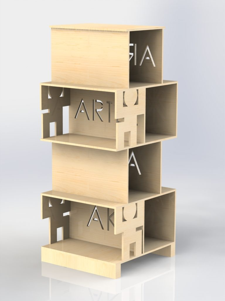 Artez Aki Bookshelf Aki Artez Made By Sheena