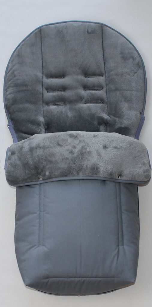 Hartan Baby One Footmuff For Hartan Or Teutonia Plain Gray