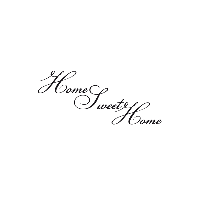 stickers citation home sweet home cheap home discount wall home sweet home wall sticker decals