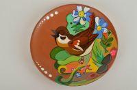 MADEHEART > Handmade cute ceramic plate with designer ...