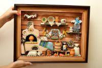 MADEHEART > Tableau Dcoration murale fait main en bois et ...