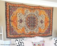 Rug Wall Art: How to Hang a Rug Like a Tapestry  Made in ...