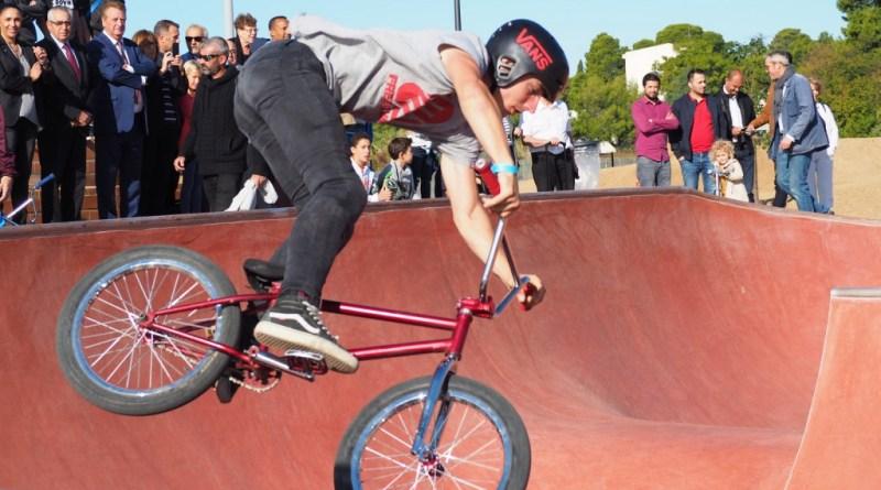 Ouverture du Skatepark Perpignan en images