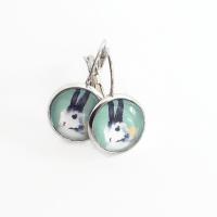 Easter Bunny Earrings | Bonny Bombons | madeit.com.au