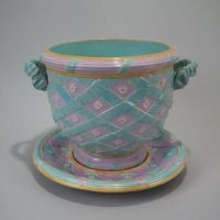 Ribbon Plates Antique & Pretty Antique Porcelain Ribbon ...