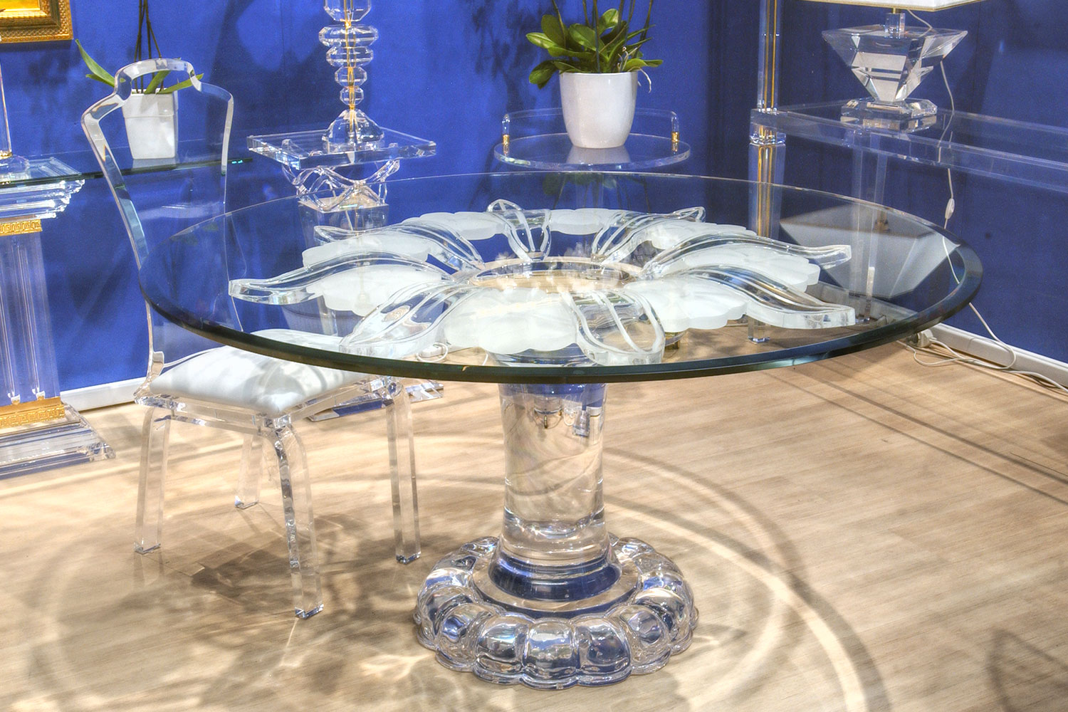 Mobilier Transparent Mobilier Transparent Meuble Transparent Table Objet Méthacrylate