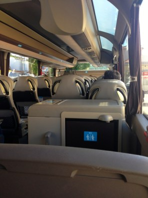 Transport barcelone comment y aller mademois 39 ailes coco for Ouibus interieur