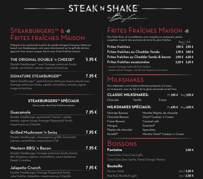 Steak n shake plan de campagne mademois 39 ailes coco - Socoo c plan de campagne ...