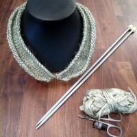 DIY tricot : le col en laine