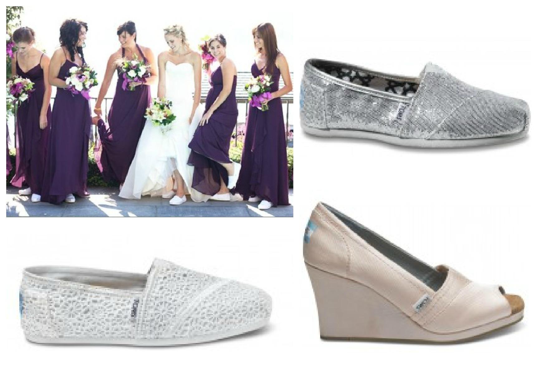 unique wedding shoes toms wedding shoes www toms com weddingcollection