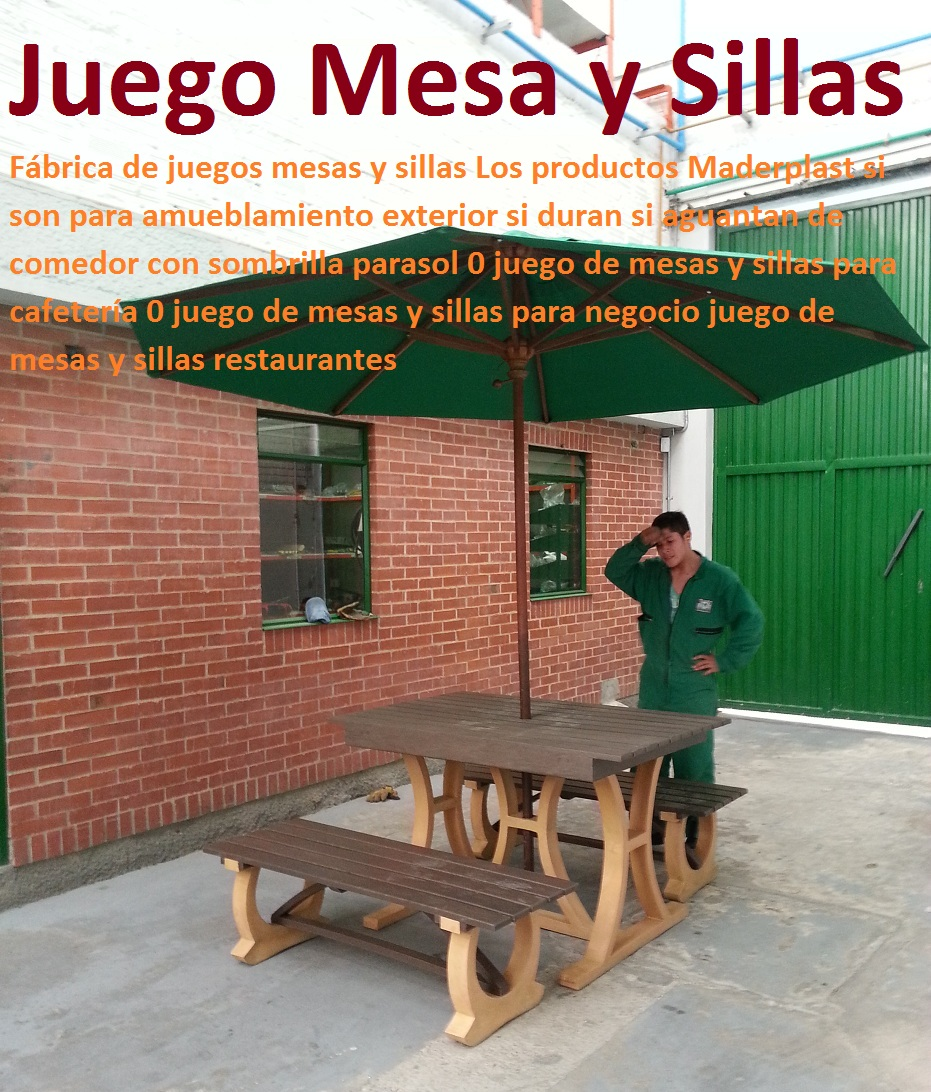 Venta De Mesas Y Sillas De Madera Para Restaurante | Sillas ...