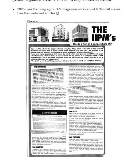 Mahesh Murthy on IIPM