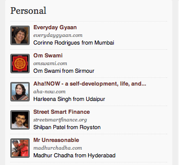 MADHURCHADHA TOP 5 BLOGS IN PERSONAL CATEGORY