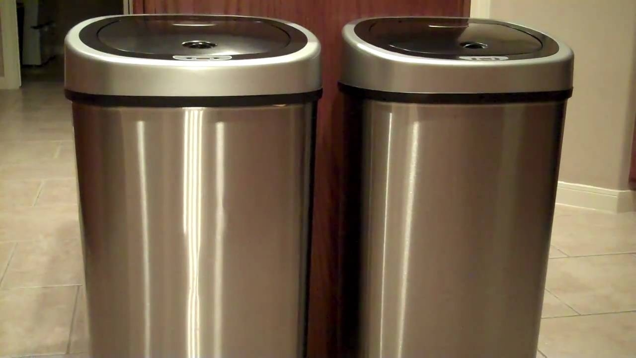 Metal Indoor Trash Can Stainless Steel Indoor Trash Cans Madison Art Center Design