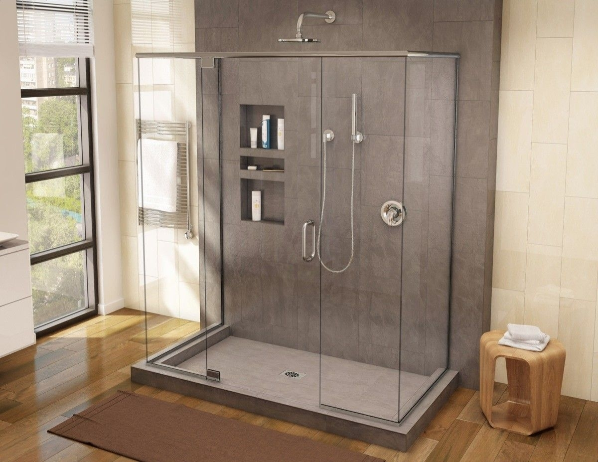 Moderne Duschen Bilder Shower Soap Niche Insert – Madison Art Center Design