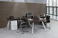 Computer & Office T-Shaped Desks for Two People