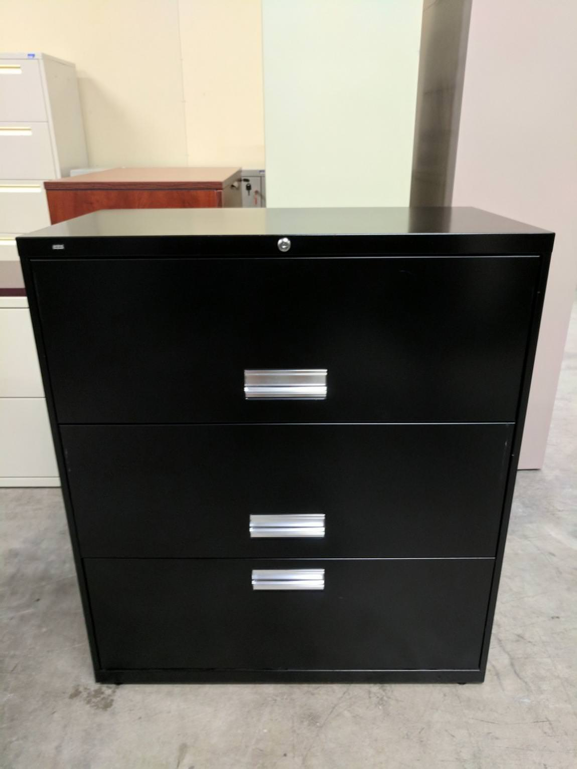 Images of 3 Drawer HON Lateral File Cabinet
