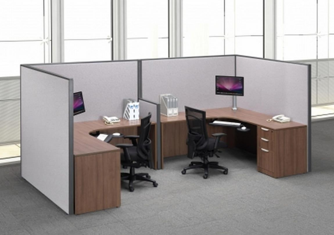 2 Person Executive Desk Images Of Two Person Cubicle Desk