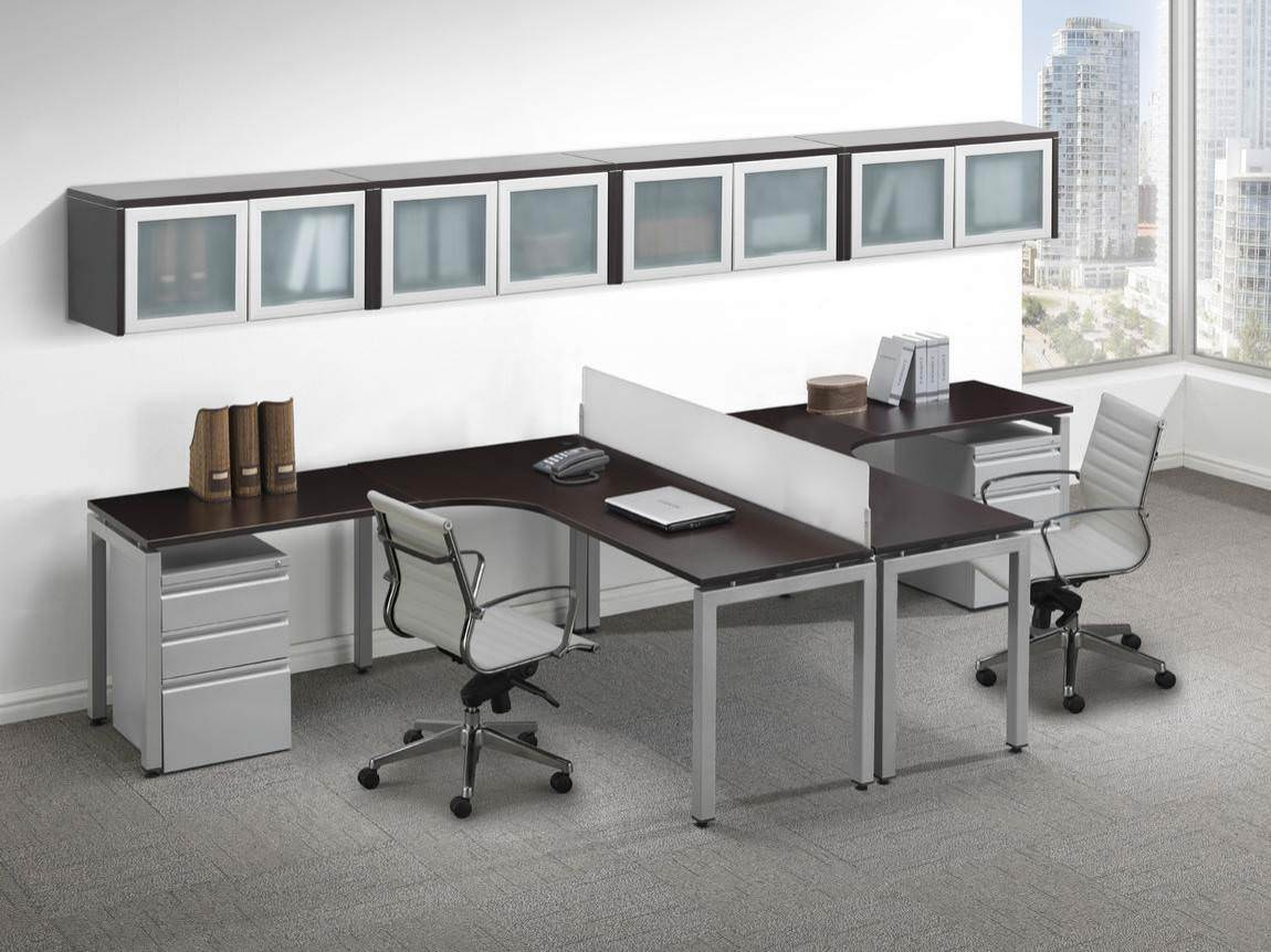 2 Person Executive Desk Images Of Contemporary 2 Person T Shape Desk Glass Accent