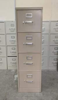 Tan Hon 4 Drawer Vertical File Cabinet - Madison Liquidators