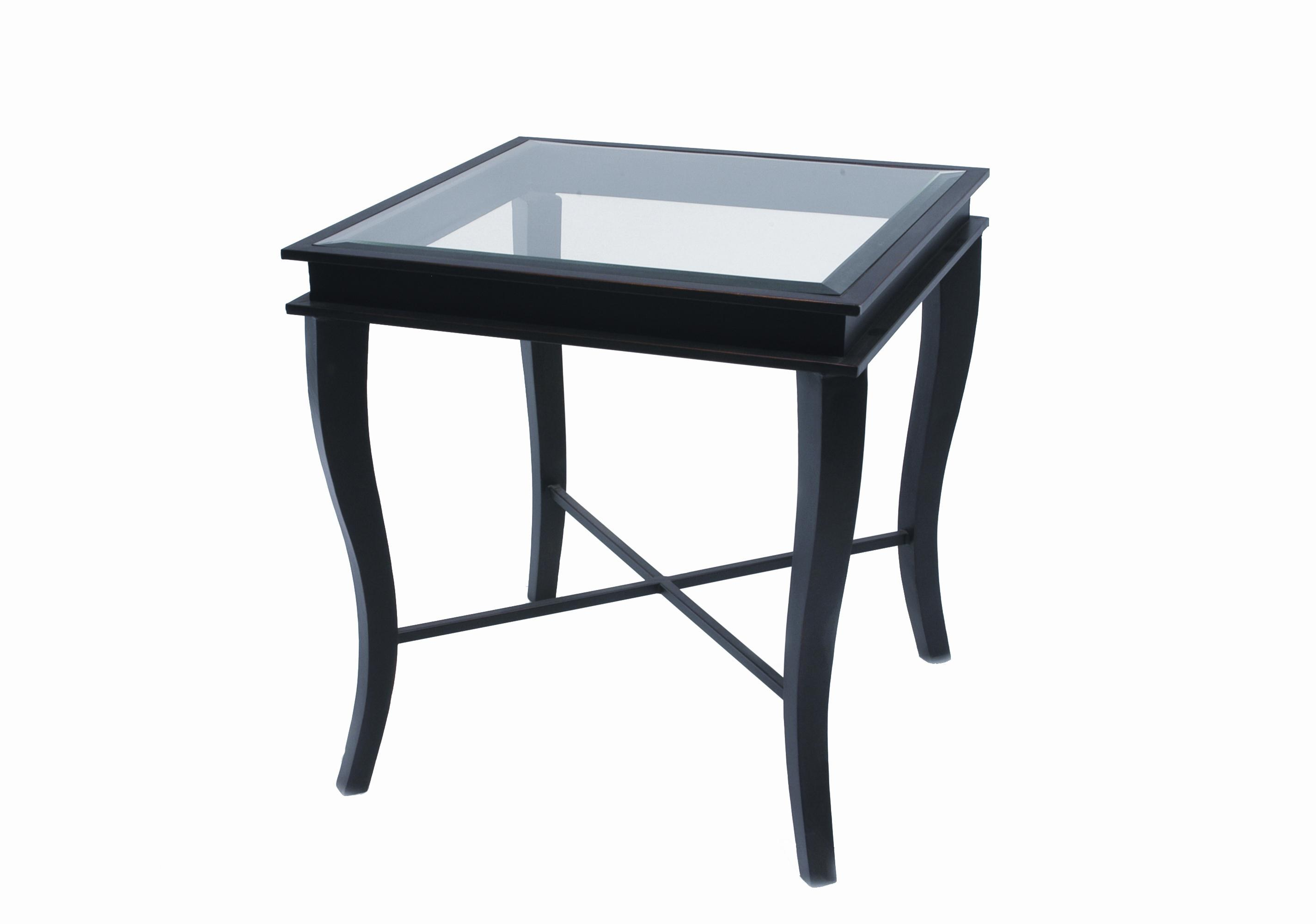 Square Glass End Tables Dania Square Glass End Table By Allan Copley Designs